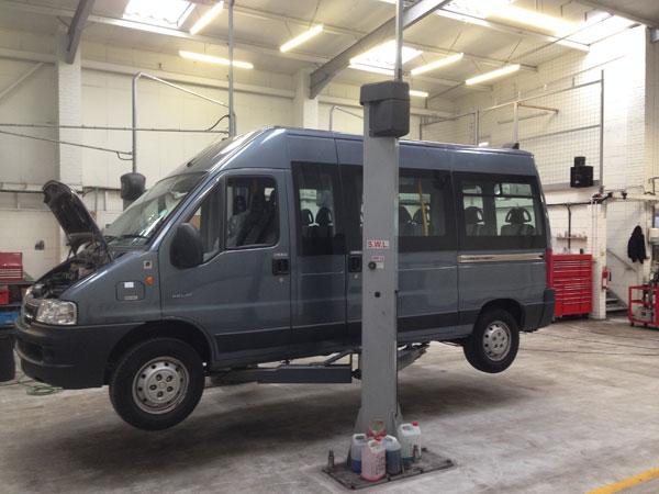Mikroautobusų remontas